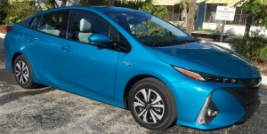 Preview del Toyota Prius Prime Advanced