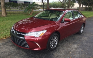 Preview del Toyota Camry XLE 2017