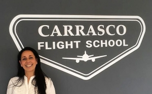 Apertura de Carrasco Flight School
