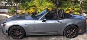 Preview del Fiat 124 Spider Abarth